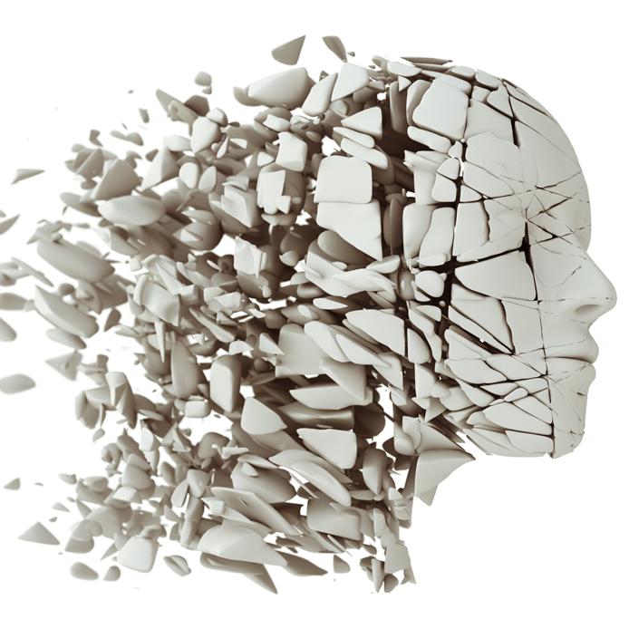 Dissolving fractured head
