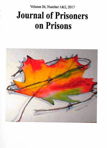 Book cover:Journal of Prisoners on Prisons - Dialogue on Canada's Federal Penitentiary System and the Need for Penal Reform