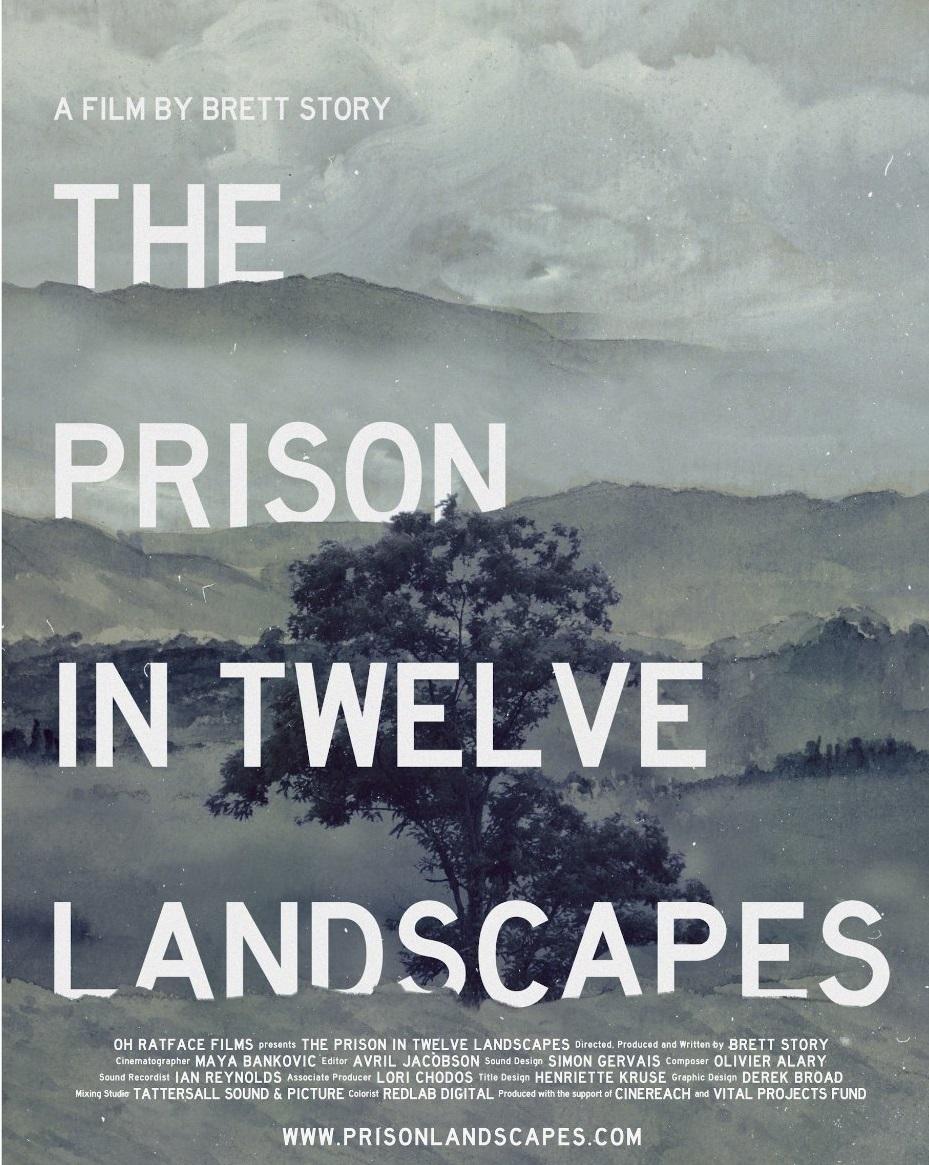 The prison in twelve landscapes poster