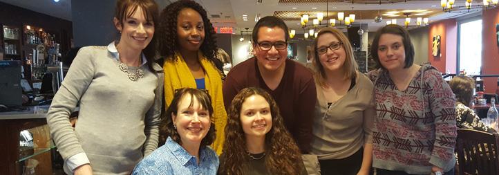 Lab Team Members, April 2016