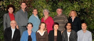 A team photo of the E=MC squared research team taken at the begining of the project.