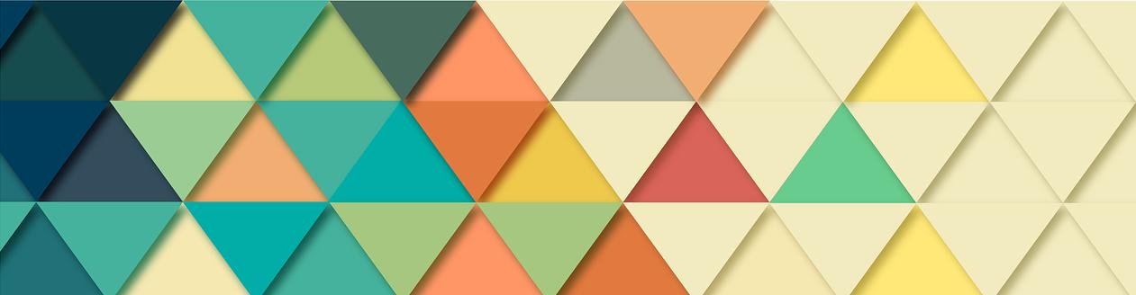 coloured triangles