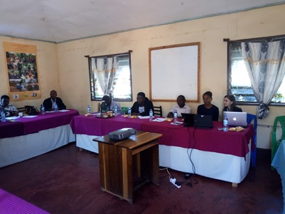 picture of a conference meeting in Tanzania