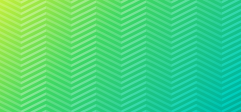 green zig zag