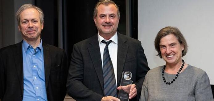 Dominique Arel, George Danyliw, Victoria Barham