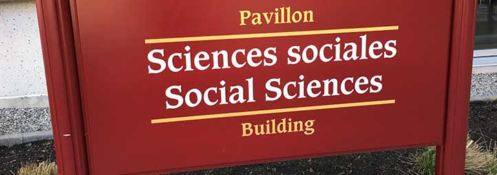 Faculty of Social Sciences Sign