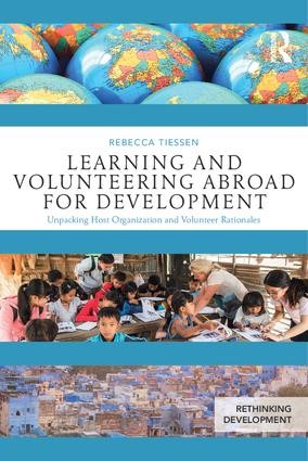 Book cover: Learning and Volunteering Abroad for Development