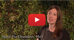 The Impact of International Development in the World. Video featuring Marie-Eve Desrosiers, PhD.