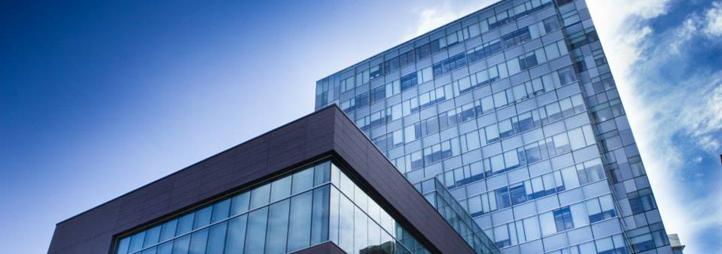 Vue extérieure du Pavillon des Sciences sociales, Université d'Ottawa