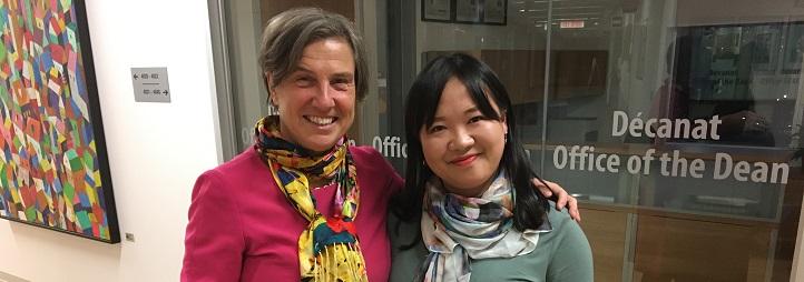 Vicky Barham and Shuxuan Huang