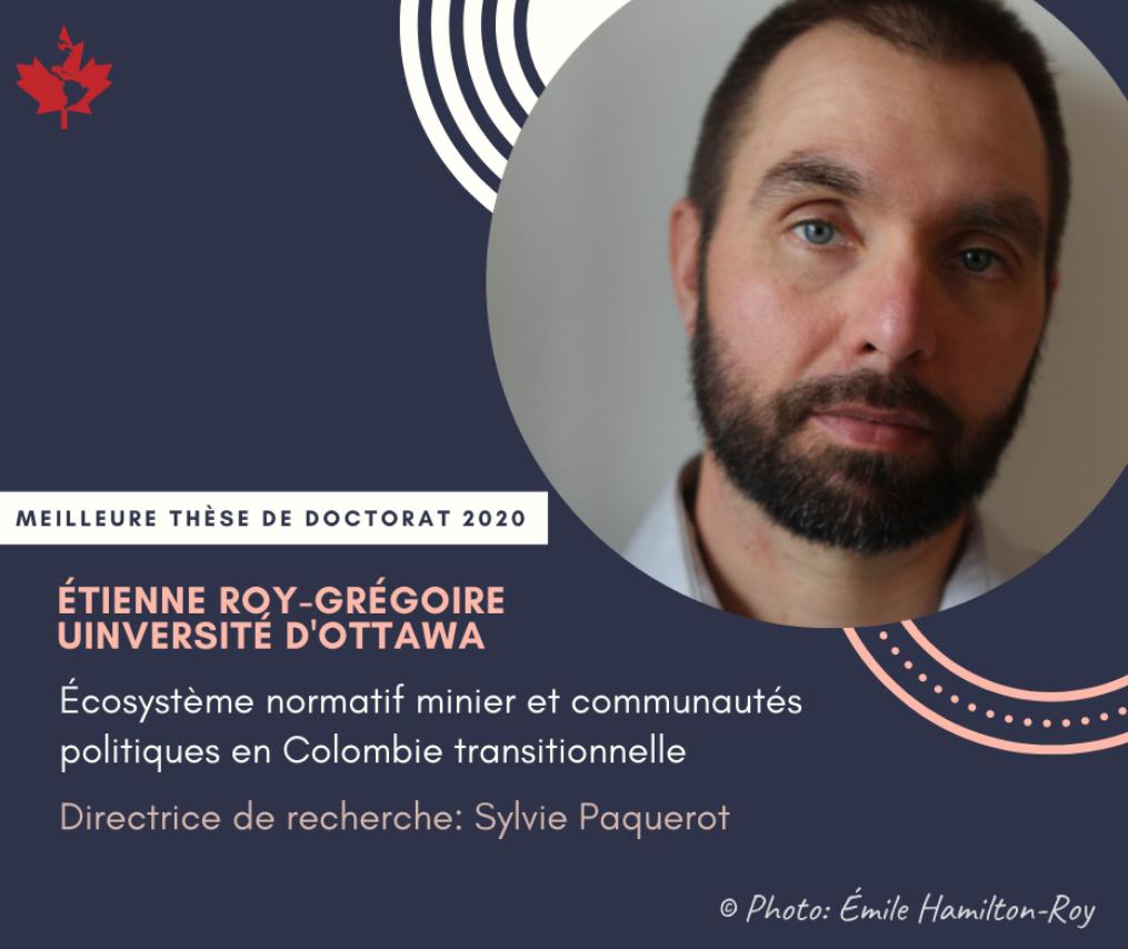 Photo d'Etienne Roy Grégoire