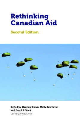 Book cover:  Rethinking Canadian Aid