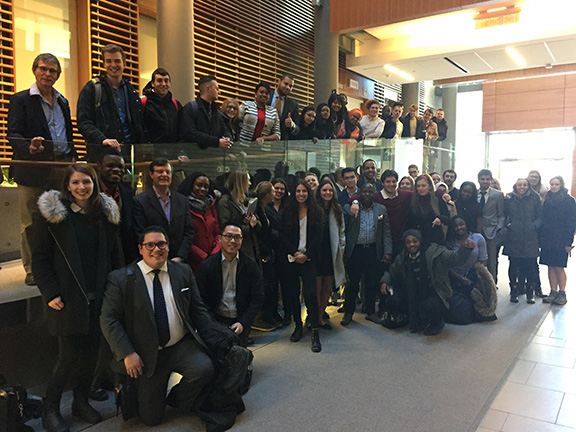 Group of students in Public Administration