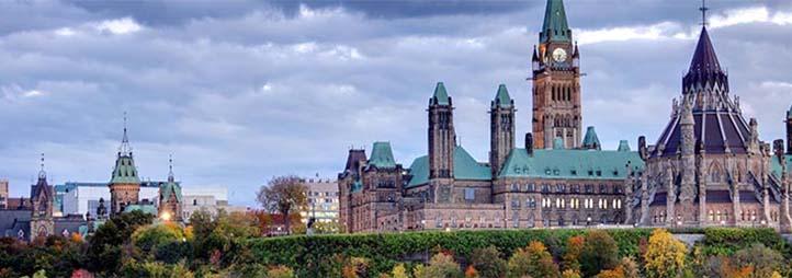 Ottawa parlement buildings