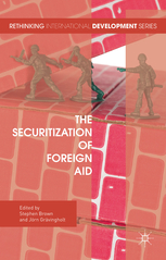 Book cover : The Securitization of Foreign Aid