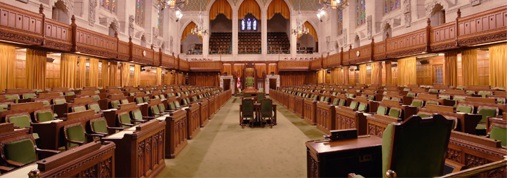 House of Commons, Parliament of Canada