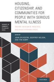Book cover : Housing, Citizenship, and Communities for People with Serious Mental Illness: Theory, Research, Practice, and Policy Perspective