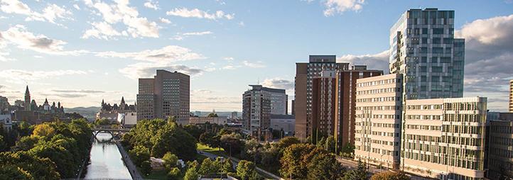 View of the University of Ottawa