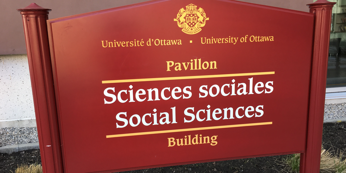 sign for the Social Sciences Building