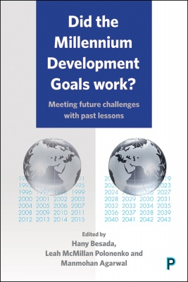 Book cover: Did the Millennium Development Goals work?