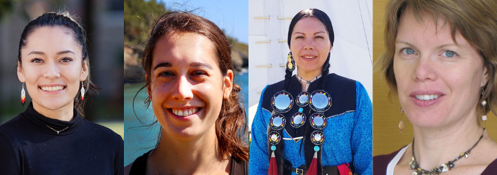 portrait of 4 indigenous women