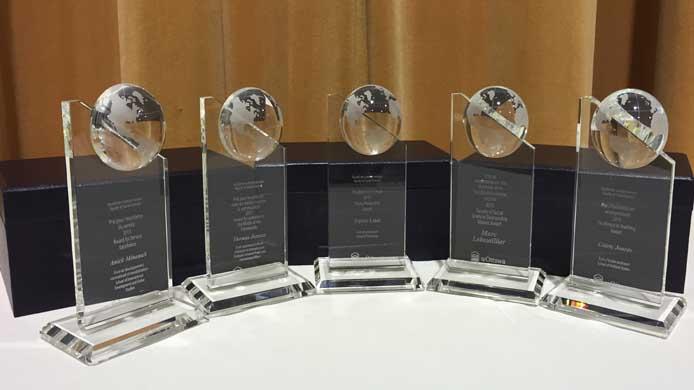 Five prizes