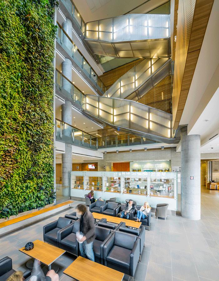 Staircase, Social Sciences Building