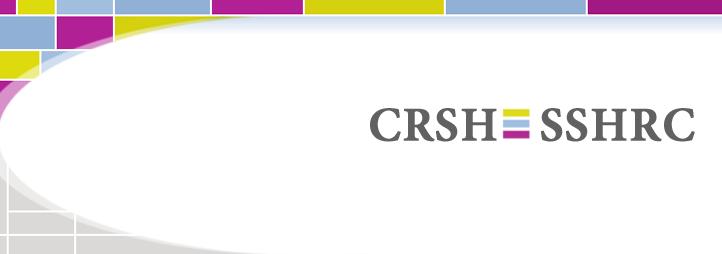 csrh - sshrc