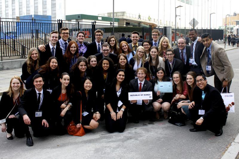 2014 uOttawa delegation