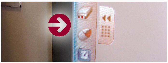Left side of smart board tool icons