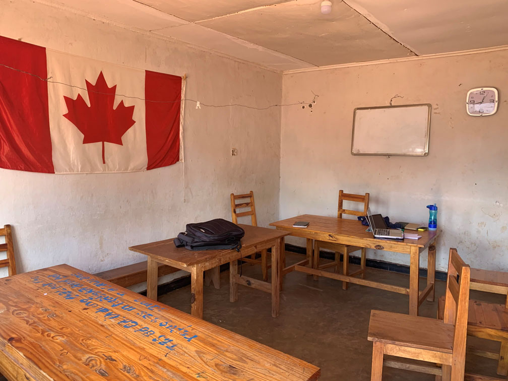 Malawi classroom