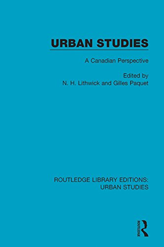 Book cover: Urban Studies: A Canadian Perspective