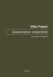 Book cover : Gouvernance corporative