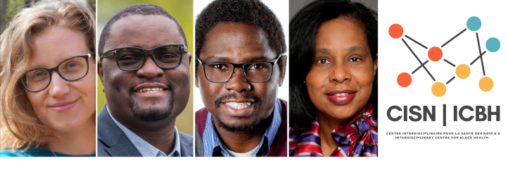 The leadership committee of the ICBH: Emmanuelle Bernheim, Jude Mary Cénat, Chibuike Udenigwe and Sharon Whiting
