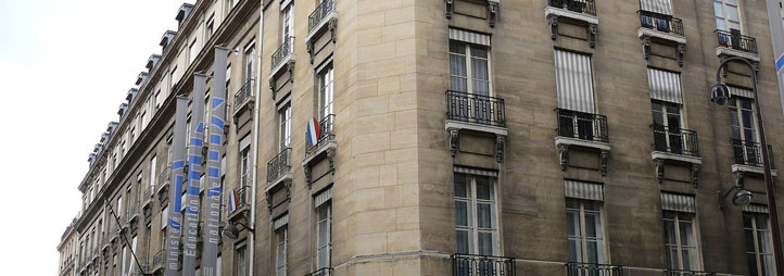 Exterior of the Ministry of Education's building in Paris