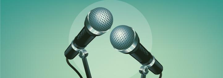 2 microphones