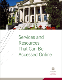 Services and Resources that can be Acessed Online, University of Ottawa