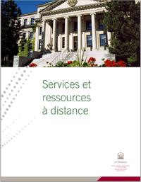 Services et ressources à distance, Université d'Ottawa
