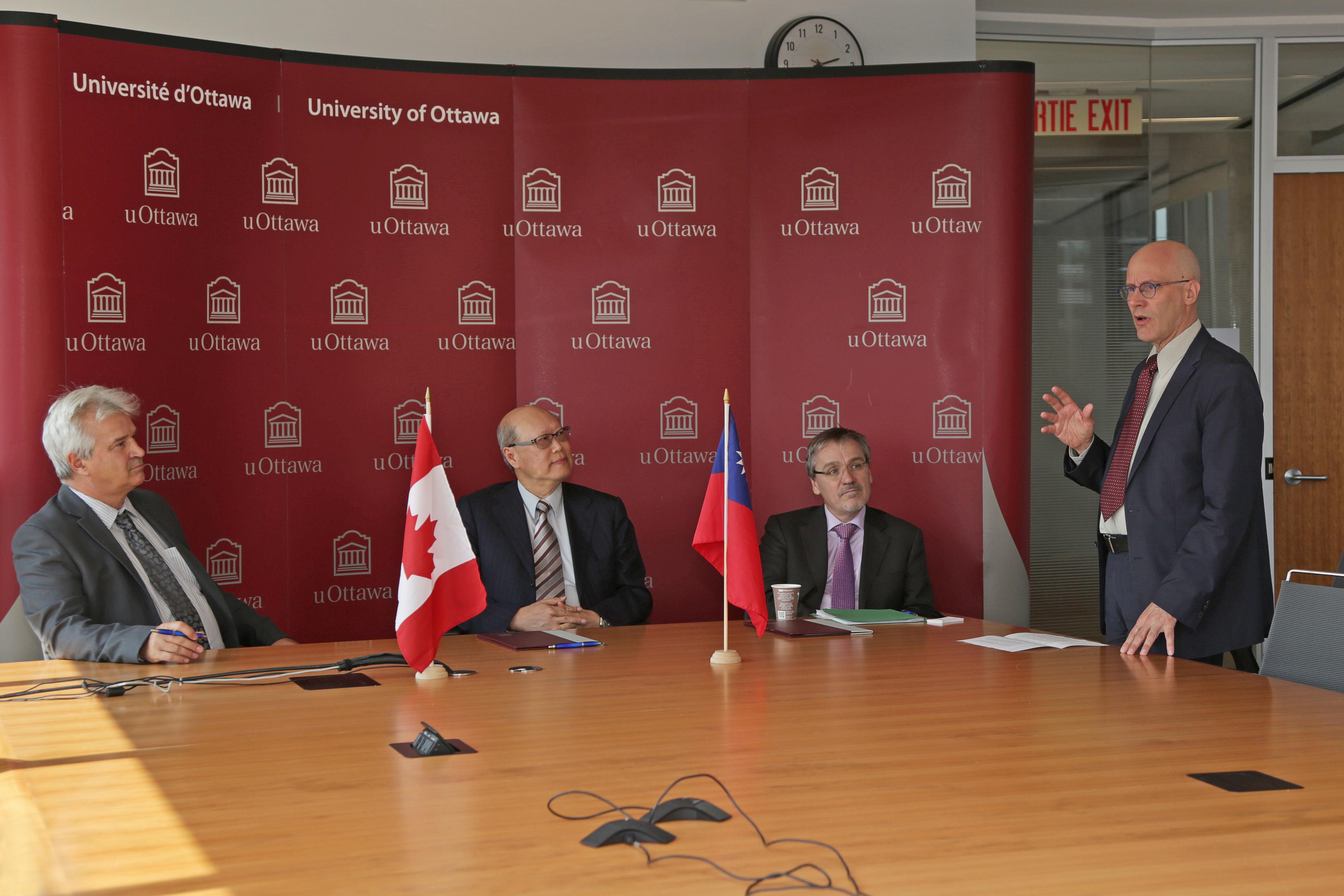 Dean Marcel Mérette, Chung-chen Kung, André Laliberté