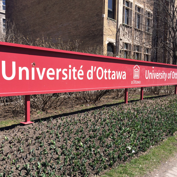 University of Ottawa sign