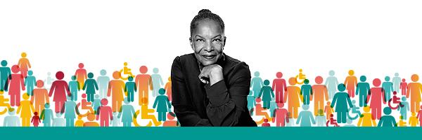 Christiane Taubira conference poster