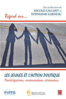 Book cover :Les jeunes et l'action politique