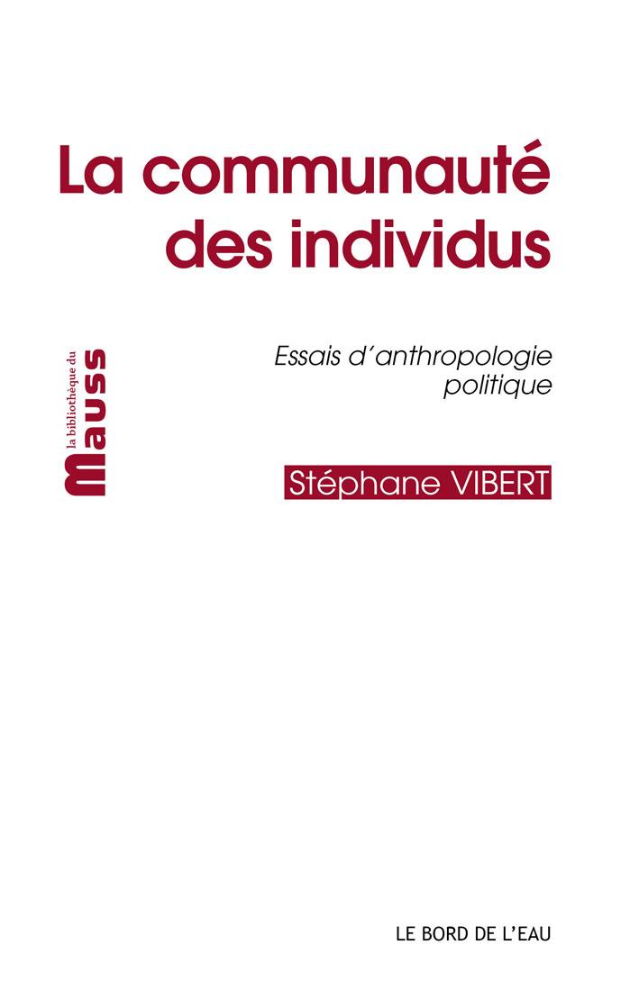 La communauté des individus book cover