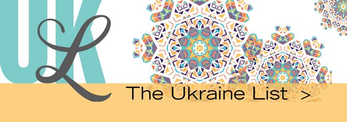 Stylized image of the Ukraine List