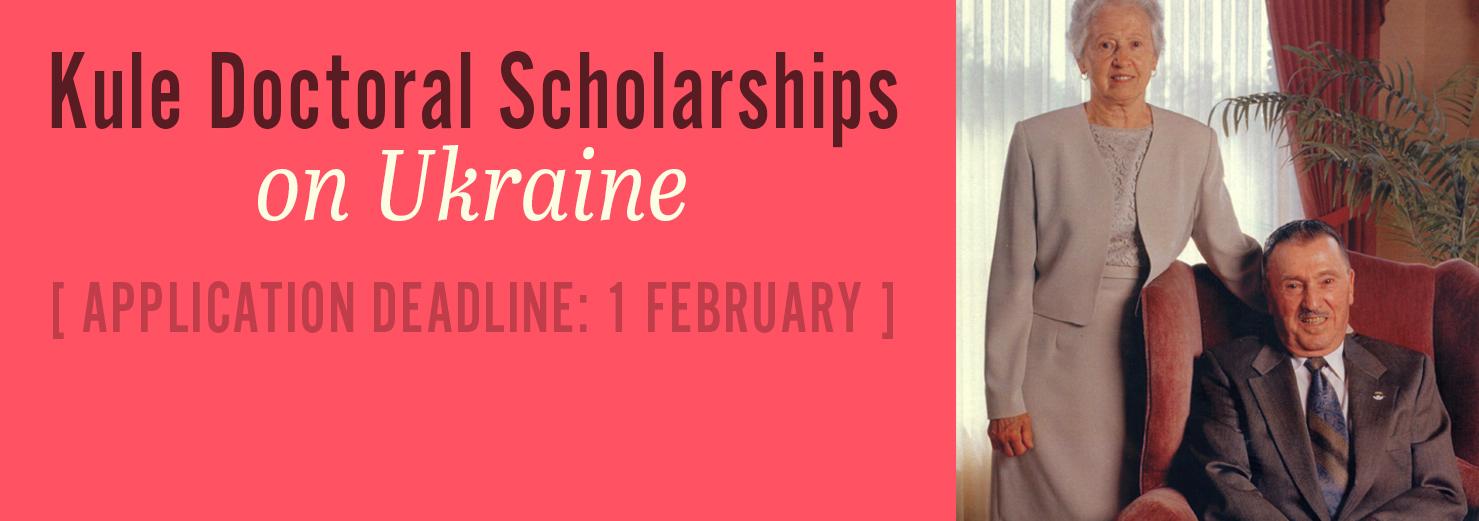Kule Doctoral Scholarships on Ukraine